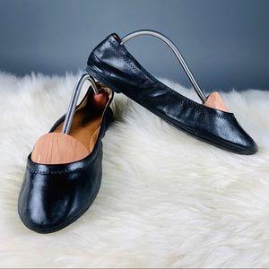 Lucky Brand Black Flats Size 8.5